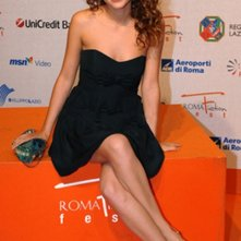 L'attrice Pamela Saino al Roma Fiction Fest 2008