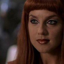 Suanne Braun interpreta la dea Hathor, una regina tra i Goa'uld, nella serie tv Stargate SG-1, episodio: Nel fuoco
