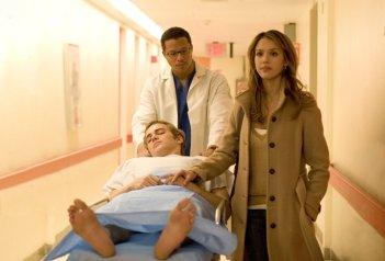 Terrence Howard, Hayden Christensen e Jessica Alba in una sequenza del film Presunta innocenza