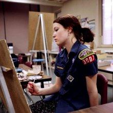 Hannah Bailey in una sequenza del documentario American Teen