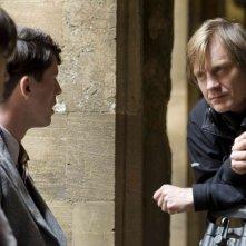 Il regista Julian Jarrold sul set del film Brideshead Revisited
