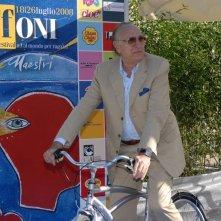 Pippo Baudo ospite al Giffoni Film Festival 2008