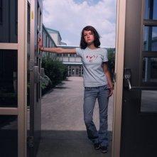 Hannah Bailey in una foto promozionale del documentario American Teen