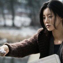Una sequenza del thriller Black House, diretto da Terra Shin