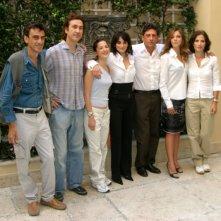 Il cast di Non ti muovere: Elena Perino, Penelope Cruz, Sergio Castellitto, Claudia Gerini e Margaret Mazzantini
