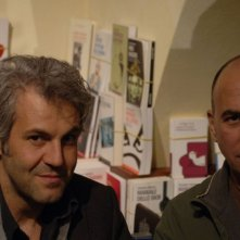 Il produttore Domenico Procacci e il regista Ferzan Ozpetek sul set di Un giorno perfetto