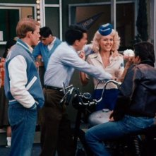 Misty Rowe nel serial Happy Days, accanto a Ron Howard