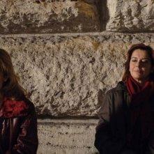 Isabella Ferrari e Monica Guerritore in una scena del film Un giorno perfetto
