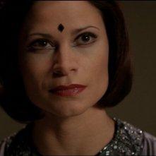 Jacqueline Samuda interpreta Nirrti, un Goa'uld specializzato in esperimenti genetici nella serie tv Stargate SG-1, episodio: Fuoco della mente