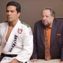 John Machado e Ricky Jay in una scena del film Redbelt