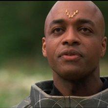 Rick Worthy interpreta K'tano un carismatico Jaffa che si pone alla guida dei ribelli nell'episodio 'Il guerriero' della serie Stargate SG-1