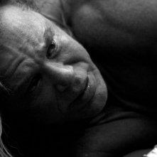 Mickey Rourke in una scena del film The Wrestler di Darren Aronofsky