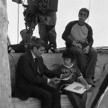 Antonio Friello e Luigi Santoro sul set del film Animanera