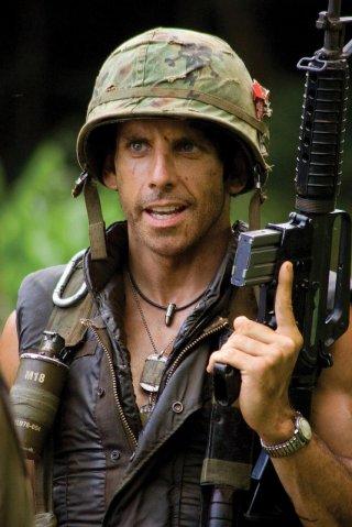 Ben Stiller è protagonista del film Tropic Thunder