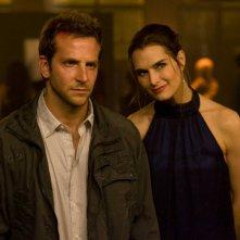 Bradley Cooper e Susan Hoff in una scena del film The Midnight Meat Train