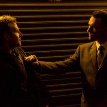 Bradley Cooper e Vinnie Jones in una scena del film The Midnight Meat Train