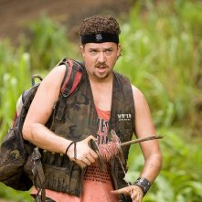 Danny McBride in una sequenza di Tropic Thunder