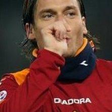 Il calciatore Francesco Totti