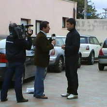 Francesco Falchetto durante un'intervista.