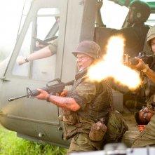 Jack Black e Brandon T. Jackson in una scena di Tropic Thunder