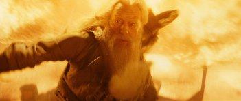 Michael Gambon in una sequenza del film Harry Potter e il principe mezzosangue