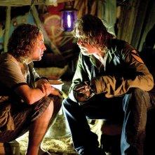 Steve Coogan e Nick Nolte in una scena del film Tropic Thunder