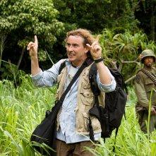 Steve Coogan e Robert Downey Jr. in una sequenza del film Tropic Thunder
