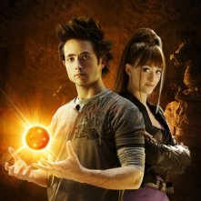 Justin Chatwin e Emmy Rossum in un'immagine promozionale di Dragonball