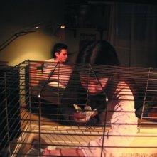 Mattia De Gasperis e Michela Cova in una scena del film Il primo giorno d'inverno