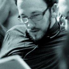 Mirko Locatelli sul set del film Il primo giorno d'inverno