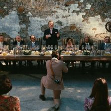 Alan Rickman in una sequenza del film Bottle Shock