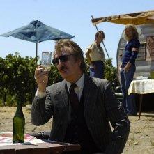 Alan Rickman in una sequenza del film Bottle Shock diretto da Randall Miller