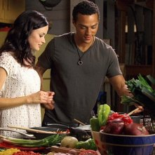 Alexis Bledel e Jesse WIlliams in una sequenza di The Sisterhood of the Traveling Pants 2