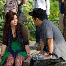 Amber Tamblyn e Leonardo Nam in una scena del film The Sisterhood of the Traveling Pants 2