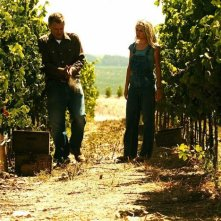Bill Pullman e Rachael Taylor in una scena del film Bottle Shock