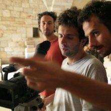 Il regista Pippo Mezzapesa sul set del film Pinuccio Lovero - Sogno di una morte di mezza estate
