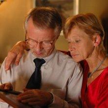 Krzysztof Stroinski e Jadwiga Jankowska-Cieslak in una scena del film Scratch