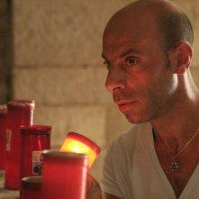 Pinuccio Lovero in una scena del film Pinuccio Lovero - Sogno di una morte di mezza estate di Pippo Mezzapesa