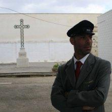 Pinuccio Lovero in una scena di Pinuccio Lovero - Sogno di una morte di mezza estate