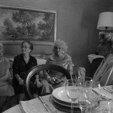 Una foto scattata sul set del film Pranzo di Ferragosto