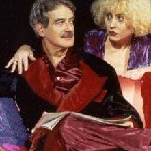 Giuseppe Pambieri e Lia Tanzi nello spettacolo 'Vite Private' di Noel Coward.