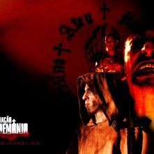 Wallpaper dell'horror brasiliano Encarnação do demonio