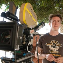 Il regista David Gordon Green sul set del film Strafumati