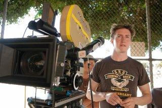 Il regista David Gordon Green sul set del film Strafumati