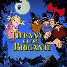 La locandina italiana di Tiffany e i 3 briganti
