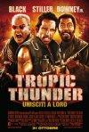 La locandina italiana di Tropic Thunder