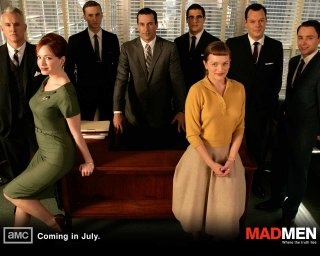 Terzo wallpaper di Mad Men