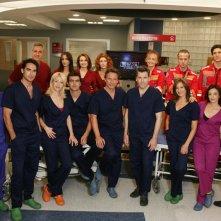 Il cast di Terapia d'urgenza in una foto promozionale.