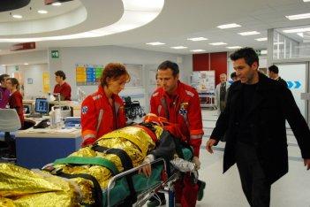 Miriam Mesturino e Rodolfo Corsato in una scena di Terapia d'urgenza