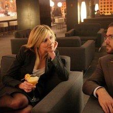 Sarah Chalke e Ryan Reynolds in una scena del film Chaos Theory